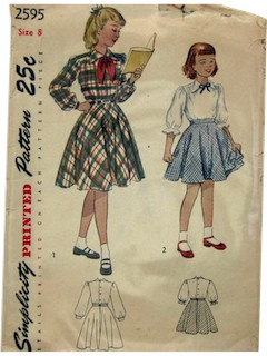 1950's Womens/Child Pattern