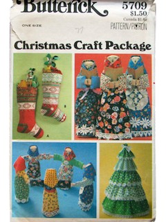 1970's Unisex Craft Pattern