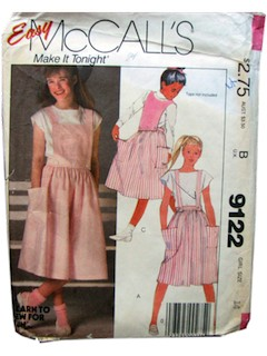 1980's Womens/Girls pattern