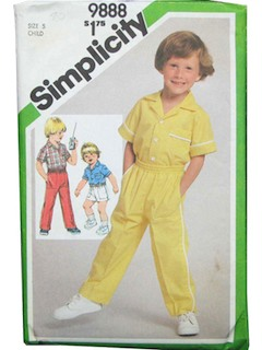 1980's Womens/Childrens Pattern