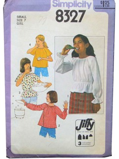 1970's Womens/Childrens Pattern