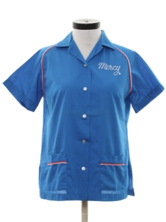1980's Womens Bowling Shirt