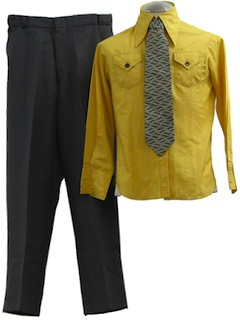 1970's Mens Combo Outfit