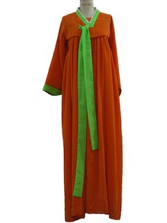 1960's Womens Gown Maxi Dress