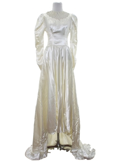 1950's Womens Wedding Gown Dress