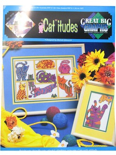 1990's Cross Stitch Pattern Book