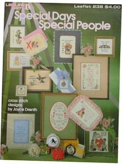 1980's Cross Stitch Pattern Book