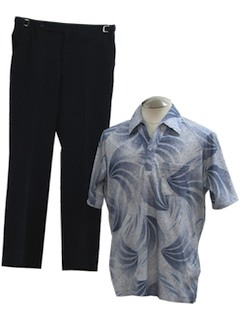 1970's Mens Combo Disco Outfit