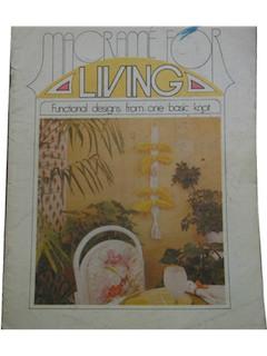 1970's Macrame Book