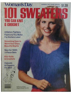 1980's Knitting/Crochet Book