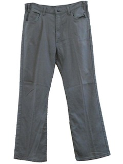 1970's Mens Jean Cut Pants