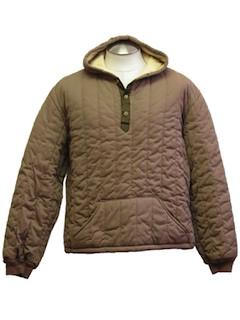 1970's Mens Ski Hoodie Jacket