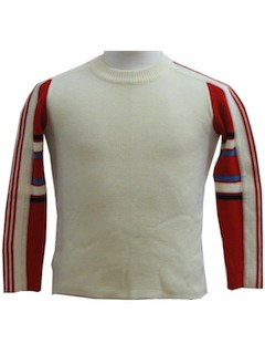 1970's Youth Mens Ski Sweater