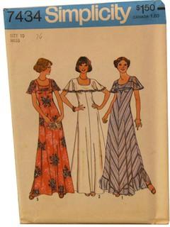 1970's Womens Pattern