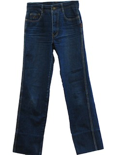 1980's Mens Designer Jeans Pants