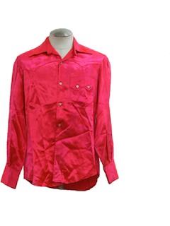 1940's Mens Western Shirt