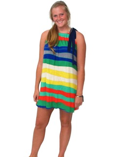 1980's Womens Sundress