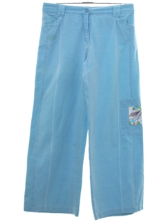 1980's Womens Totally 80s Baggy  Pants