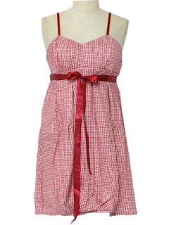1960's Womens Mini Sun Dress