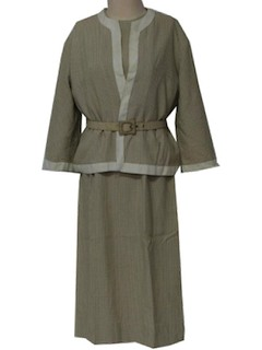 1960's Womens Dress & Jacket