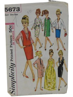1960's Doll Pattern