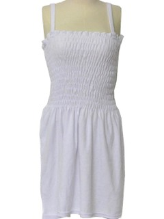 1970's Womens Terry Cloth Dress