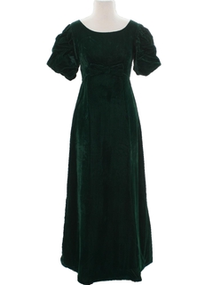 1960's Womens Cocktail or Prom Maxi Dress or Town Gown