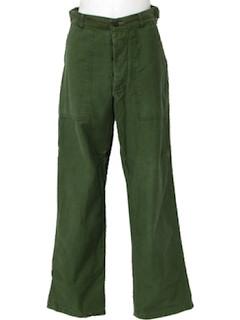 1940's Mens Cargo Pants*