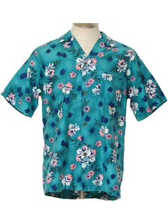 1960's Men Hawaiian Shirt