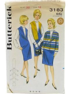 1960's Womens Pattern