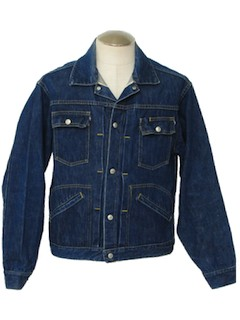 1960's Mens Denim Jacket*