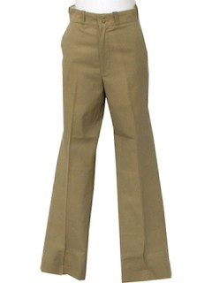 1960's Mens Khaki Pants