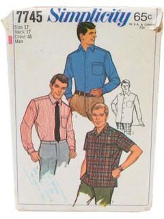 1960's Men Pattern