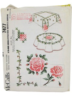 1960's Craft Pattern