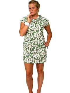 1950's Womens Mini Day Dress