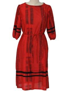 1970's Women Dress
