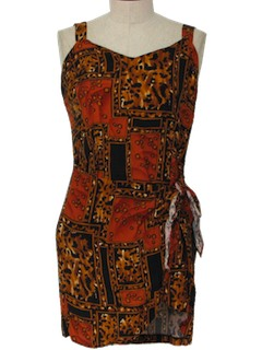 1980's Womens Mini Dress