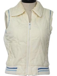 1980's Womens Ski Vest