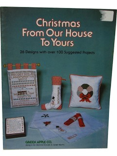 1970's Counted Cross Stitch Pattern Book