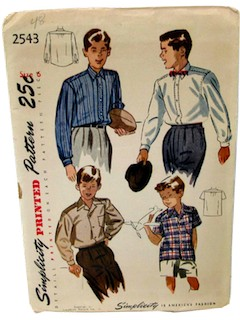 1940's Mens/Boys Patterns