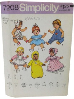 1970's Craft Pattern