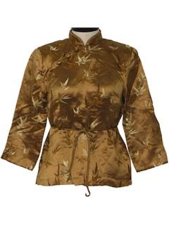 1980's Womens Oriental Shirt