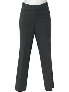 1970's Mens Mod Western Leisure Pants