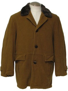 1970's Mens Car Coat