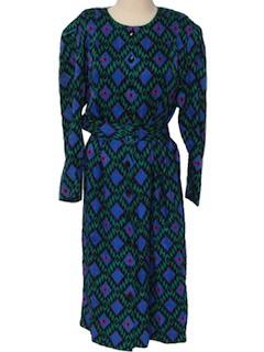 1980's Womens Dress