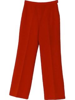 1970's Womens Flare Leg Pants