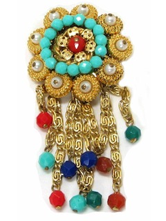 1960's Womens Accessories Pin