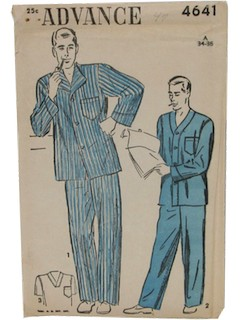1940's Mens Sewing Pattern