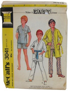 1970's Mens/Boys Patterns