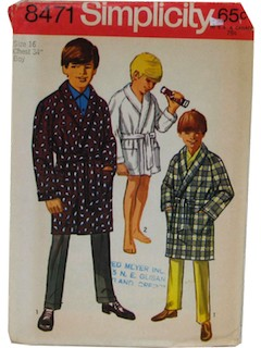1960's Mens/Boys Patterns